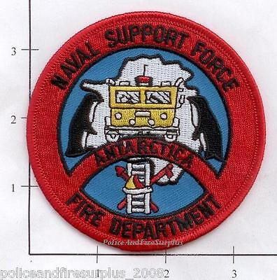 Antarctica - Antarctica Naval Support Force Fire Dept Patch