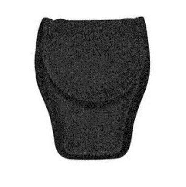 Bianchi 31393 Black PatrolTek Double Handcuff Cuff Case