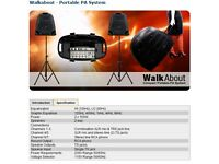 Studio Master Walk About Compact Portable PA system