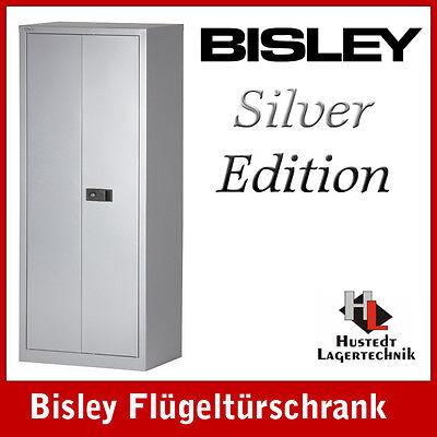 BISLEY Stahlschrank Aktenschrank Breite 600 mm, SILBER