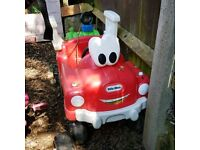 Little tikes car fire truck