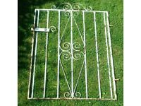 2 x Different Heavy Steel Garden Gates. £15 each14/6/18