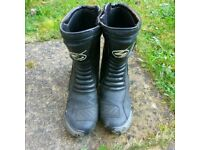 Swift torsion motorcycle boots size 11/45