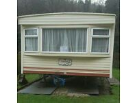 Static Caravan 35 x12. Cosalt Coaster. Central heating, insulated, double glazed. 3 bed.