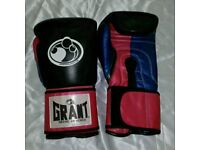 new customized grant boxing gloves 16/oz