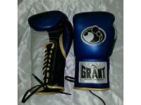 new customized grant boxing glives 12/oz