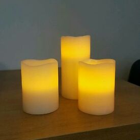21 battery candles mixed sizes wedding / party decorations