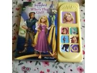 Disney Tangled Play a sound book