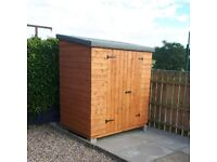 New 6x4 garden shed