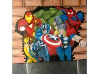 Avengers canvas.