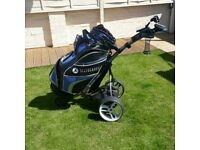 MOTOCADDY S3 PRO TROLLEY AND BAG