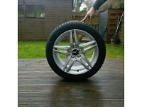BRAND NEW!! Mercedes-Benz alloy wheels and tyres.