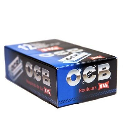 Ocb Rolling Papers - OCB Rolling Machine 1 1/4 plastic (BOX OF 10)