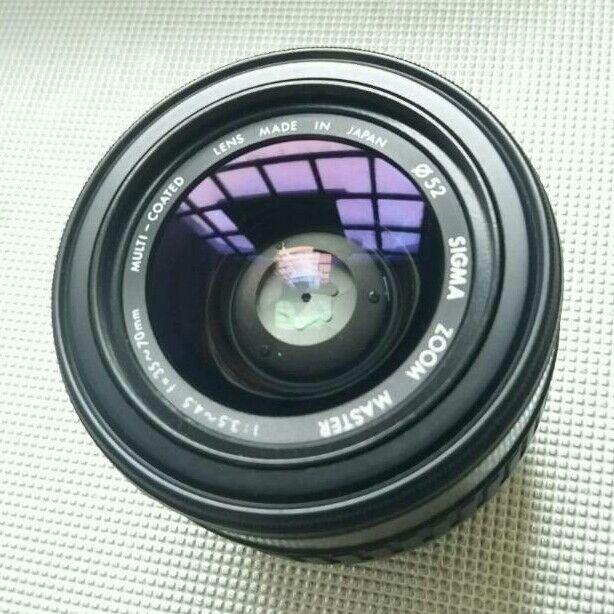 SONY ALFA fit lens SIGMA 35-70mm