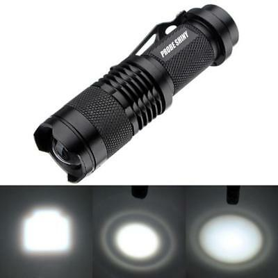 20000LM XML T6 LED 14500/AA Flashlight ZOOM Tactical Flashlight Torch