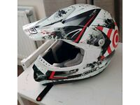 Dirt bike helmet size large