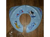 Mickey Mouse Folding Travel Kids Toilet Seat