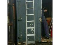 Tall aluminium ladders