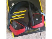 Red/Black Corsair Void Pro 7.1 headphones