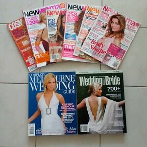 Melbourne Bride / New Woman / Cosmopolitan Magazines Bulk Lot