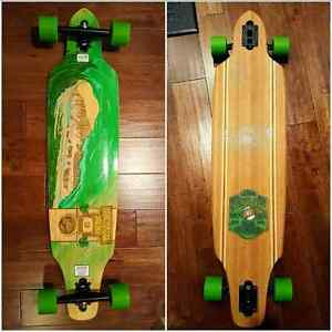 Sector 9 Lookout Complete Longboard: Bamboo Series