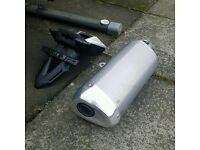 R1000 suzuki exhaust