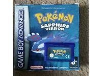 Boxed Pokemon Sapphire Version DS game