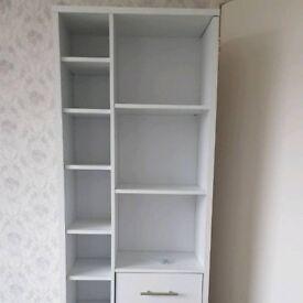 White wood unit