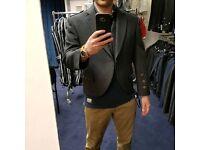Grey Arrochar Tweed Kilt Jacket