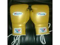new custmized winning boxing gloves 8/oz 10/oz 12/oz 14/oz 16/oz
