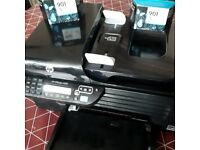 Printer with × 2 lots of ink