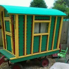 Mini romany caravan