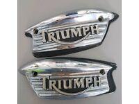 Triumph tank badges