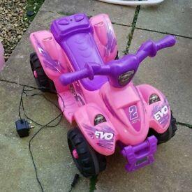 girls electric quad bike