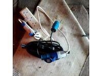 Caravan mains leaf and socket