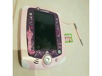 Rapunzel leap pad 2 with Minnie mouse game
