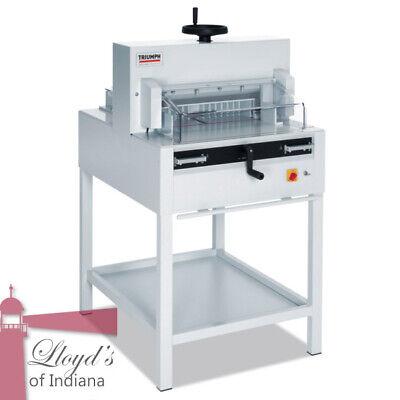 Mbm Triumph 4815 Semi-automatic 18 58 Inch Paper Cutter