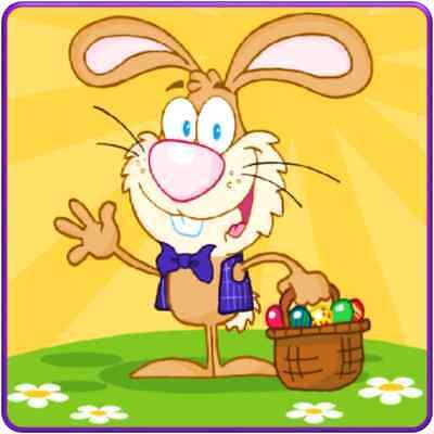 30 Custom Easter Magic Art Personalized Address Labels