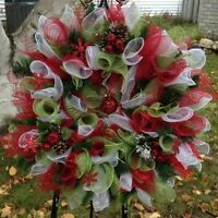 Christmas is coming!  New wreaths in stock!
