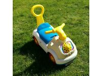 Fisherprice ride on toy