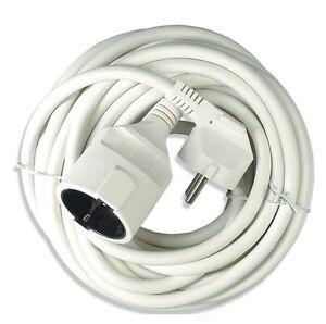 5 10 metros alargador pvc cable corriente 3x 1 50 mm for Alargador electrico 50 metros