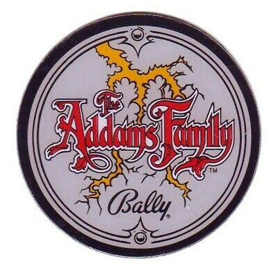 The Addams Family Bally Plastic Promo Pinball Machine Coaster 1991 Great Gift