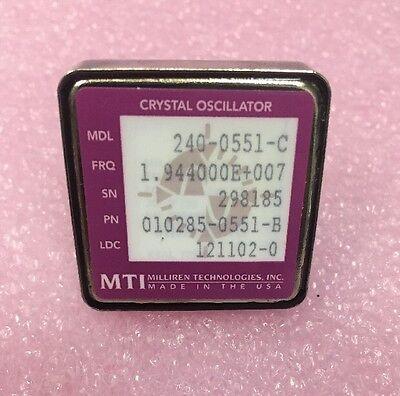 Mti 240-0551-c 010285-0551-b Crystal Oscillator