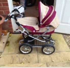 Children Pram set x3 items