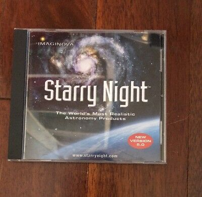 Starry Night Sky Explorer Cd-rom (5.0 Version) Night Sky Explorer