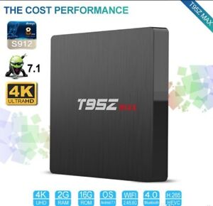ANDROID TV BOX   S912 OCTA CORE  2GB/16GB  Android 7.1