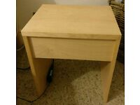 Bedside table ikea great condition