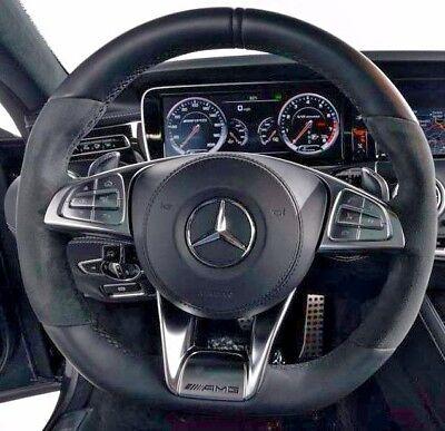 Mercedes-Benz OEM C217 AMG Performance Leder & Alcantara Lenkung Rad Neu