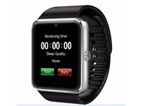 GT08 Smart Watch Sync Notifier Support Sim Card Bluetooth Connectivity Apple iphone Android Phone