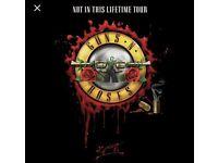x1 Guns N' Roses Ticket, The London Stadium, Saturday 17th June